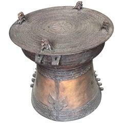 Rain Drum Bronze Haskell Antiques