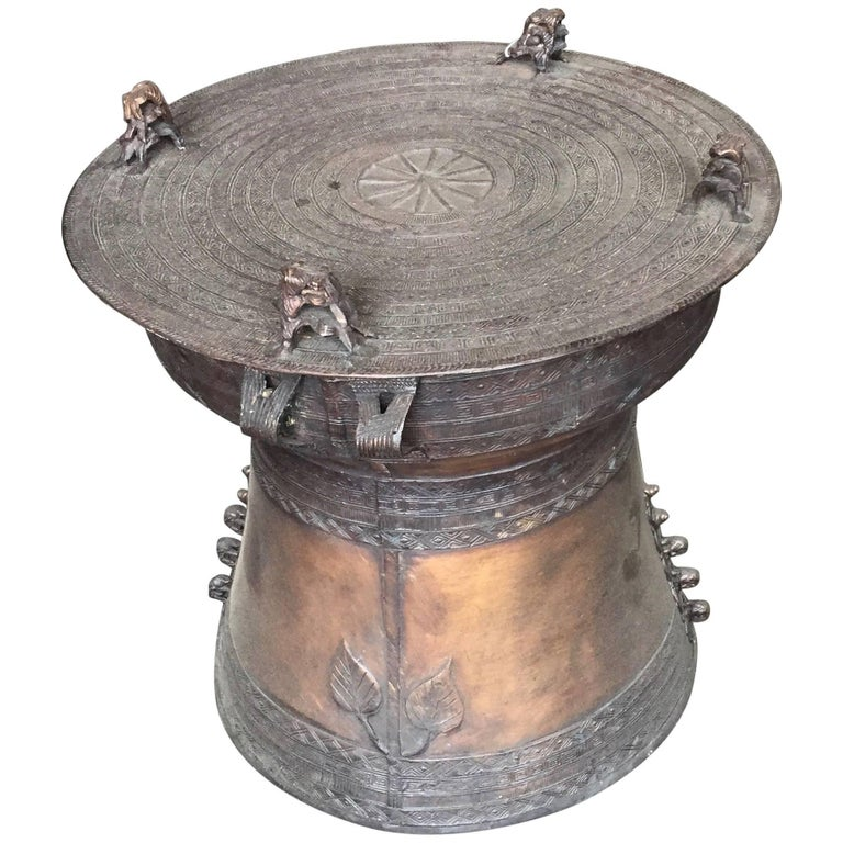 Rain Drum Bronze Haskell Antiques For Sale At 1stdibs