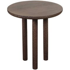 Walnut Rosae Pedestal by Collection Particuliere