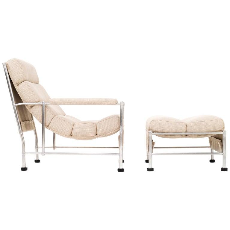 Warren McArthur Lounge Chair and Ottoman