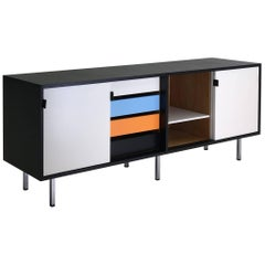 Knoll Credenza Refinished with New Color Scheme