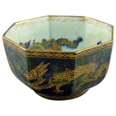 Wedgwood Fairyland Luster Bowl in Dragon Pattern