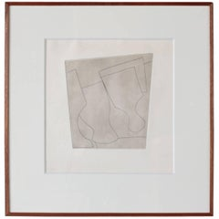 Two and Half Goblets by Ben Nicholson