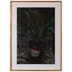 Well Painted Strelitzia by Jim Dine