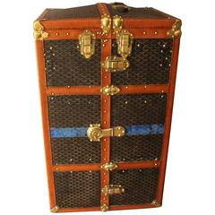 Large Goyard Wardrobe Steamer Trunk