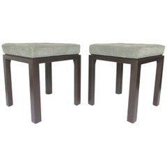 Pair of Mid-Century Modern Stools by Harvey Probber