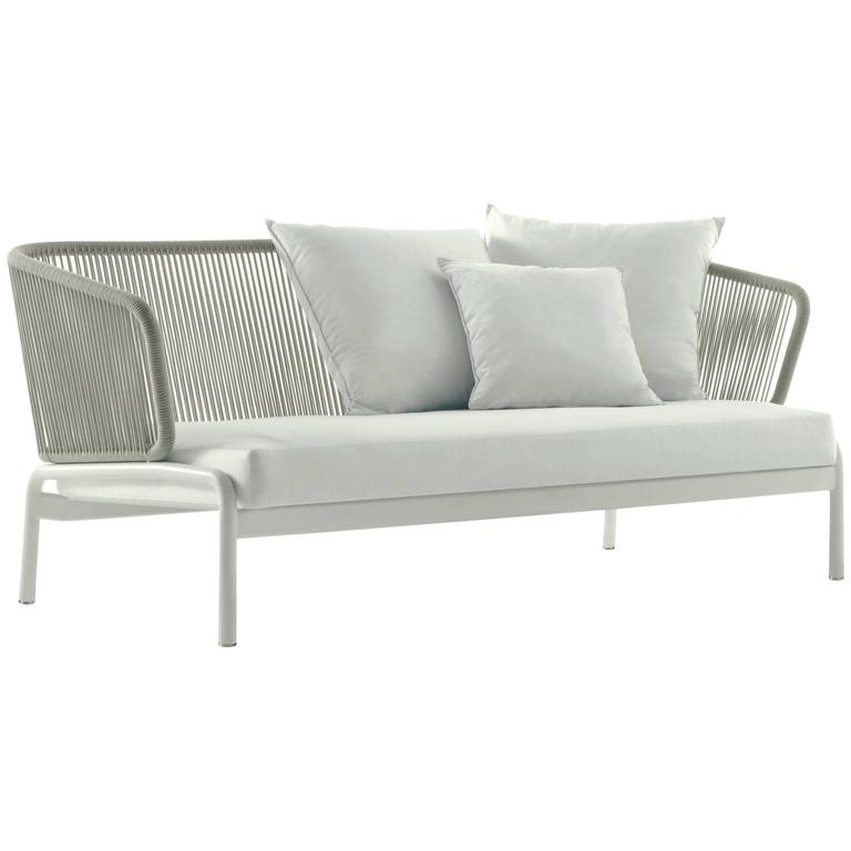 Roda Spool Two-Seat Sofa for Outdoor/Indoor Use by Rodolfo Dordoni For Sale
