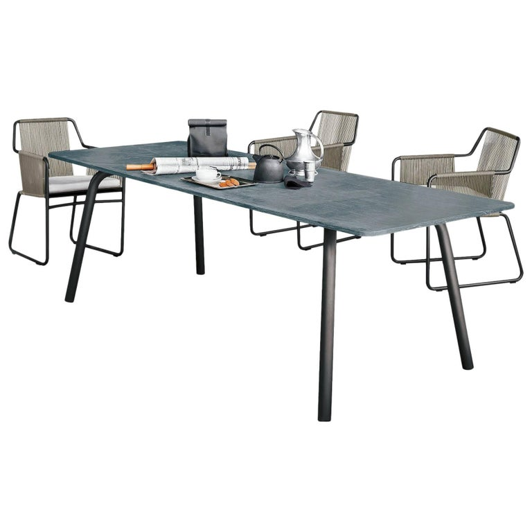 Roda Grasshopper Dining Table for Outdoor/Indoor Use for Eight-Ten People