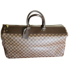 Louis Vuitton Ebene Damier Canvas Large Travel Bag