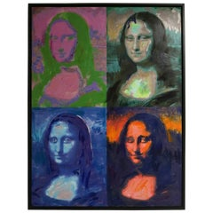Giclee Painting of the Mona Lisa