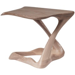 Amorph Tryst Side Table, Stained Natural,