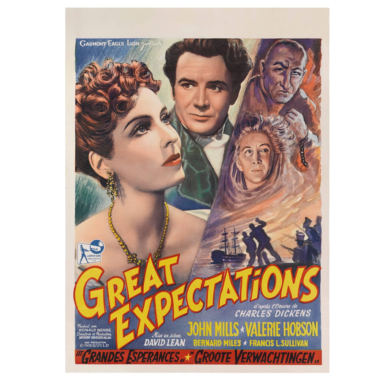 """Great Expectations"" Original Belgian Movie Poster"