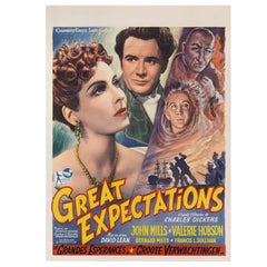 """Great Expectations"" Original Belgian Movie Poster"