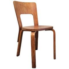 Early Alvar Aalto Desk or Side Chair 66