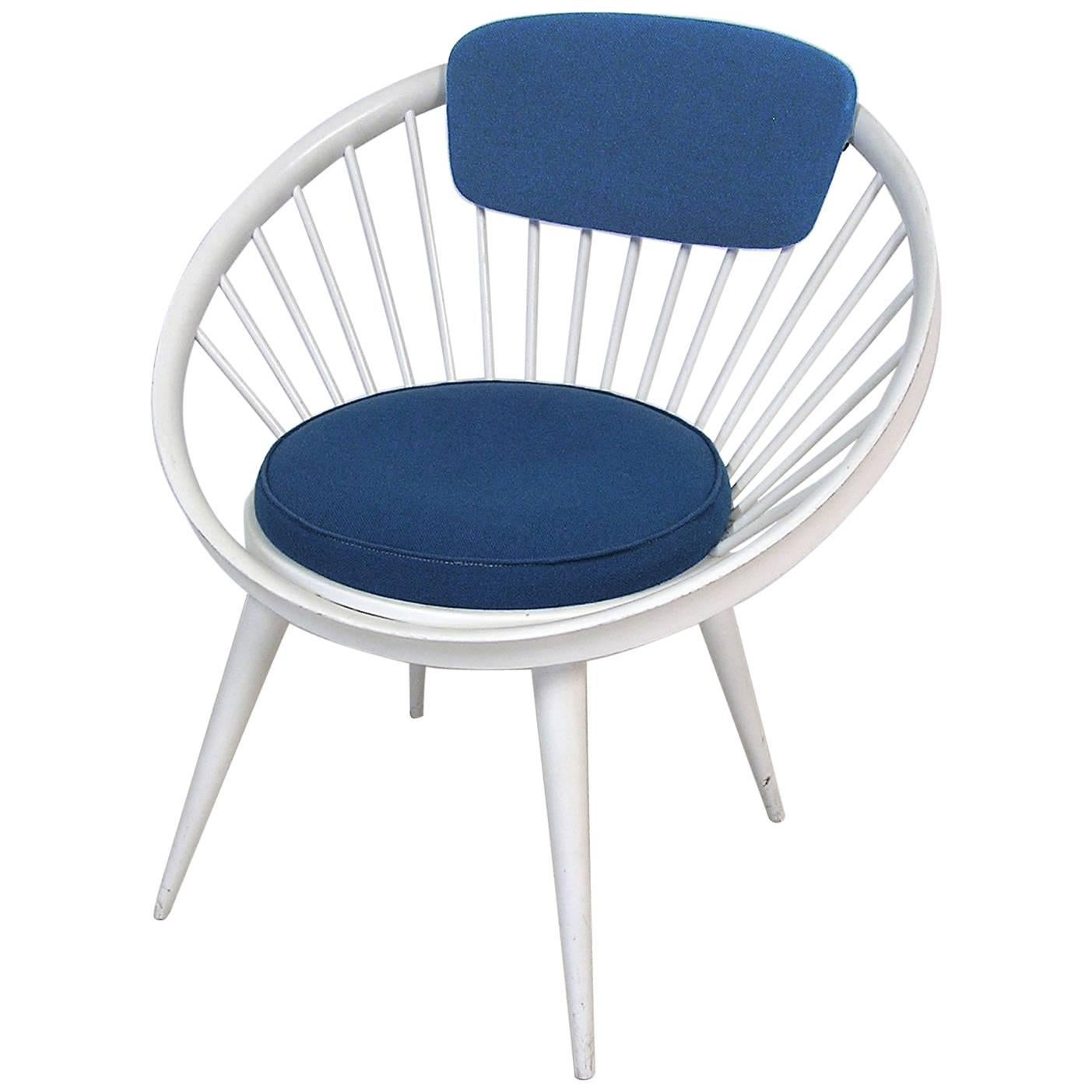 1960s Circle Lounge Chair By Yngve Ekstrom, Italy For Sale