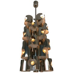 Chandelier by R. Fontana, Italy, 1970s