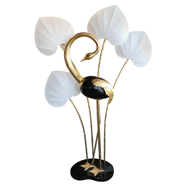 Fabulous Flamingo Large Floor Lamp In The Manner Of