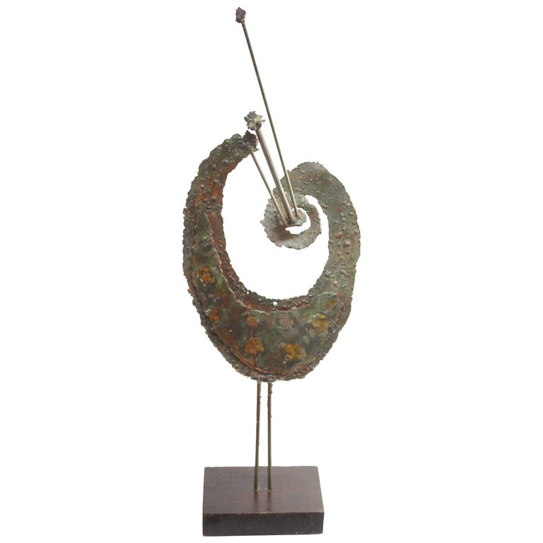 James Bearden Abstract Peacock Sculpture