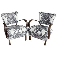 Pair of Jindrich Halabala Chairs