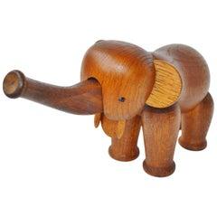 Kay Bojesen Oak Elephant Figure, Denmark