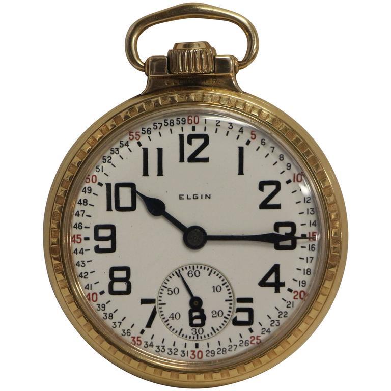 Datierung der Seriennummer der Elgin Taschenuhr