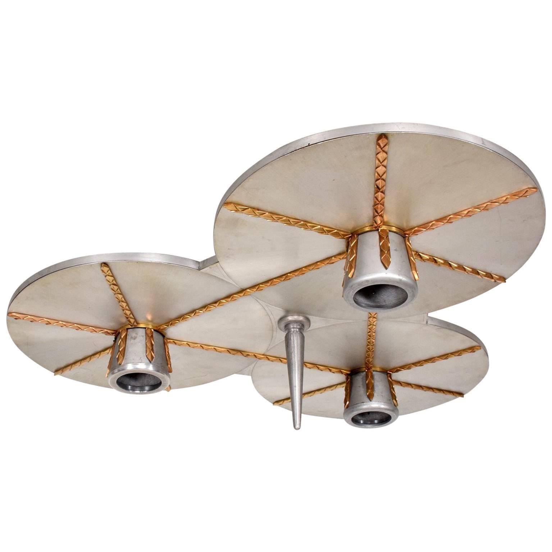 Art Deco Inspired Ceiling Light Fixture Chandelier