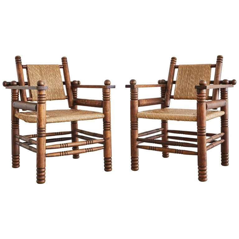 Charles Dudouyt Chairs 1