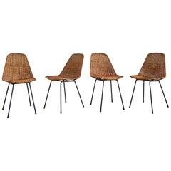 Set of Four Carlo Graffi & Franco Campo Chairs