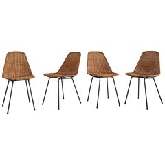 Set of Four Carlo Graffi & Franco Campo Chairs