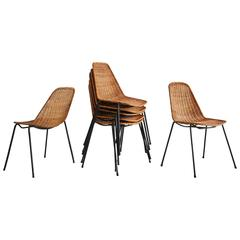 Carlo Graffi & Franco Campo Dining Chairs