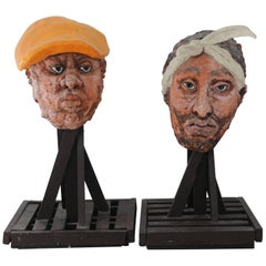 Tupac Shakur, the Notorious B.I.G. Sculptures