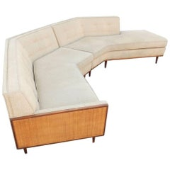 Mid-Century Sectional Sofa in Style of Harvey Probber