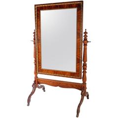 Fine Biedermeier Psiche Mirror, Austria, 1850s