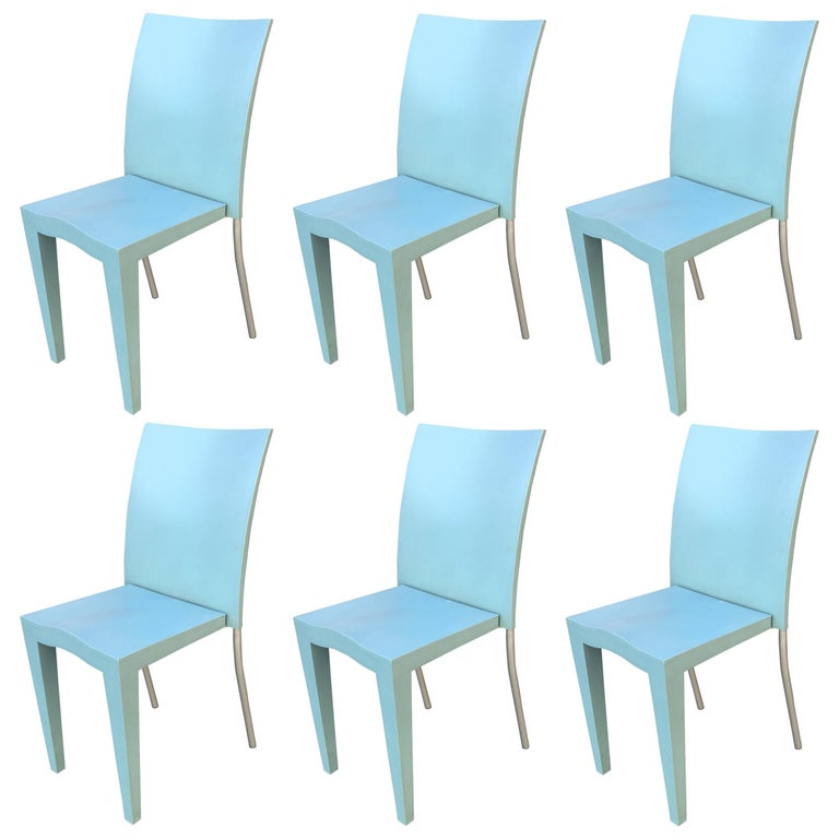 Philippe Starck Six Chairs Miss Global Edited By Kartell For - Kartell furniture