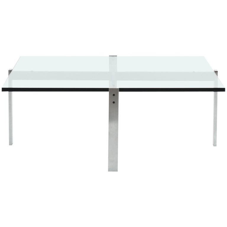 Poul Kjaerholm PK65 Coffee Table for E. Kold Christensen