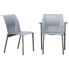 Two Frank Gehry for Knoll Studio Fog Chairs