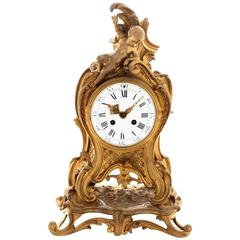 Mid-19th Century French Ormolu Mantel Clock