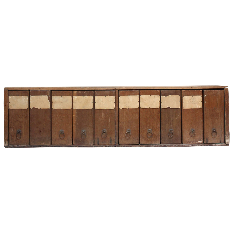 Primitive 19th Century Filing Cabinet