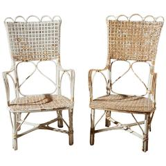19th Century Wicker Chairs