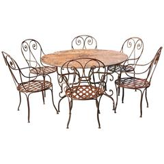 19th Century Garden Dining Set