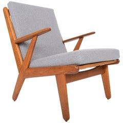 Poul Volther J53 Oak Lounge Chair