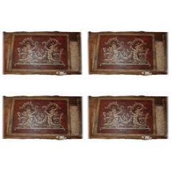 Set of Four 18th Century Architectural Venetian Boiserie Panels