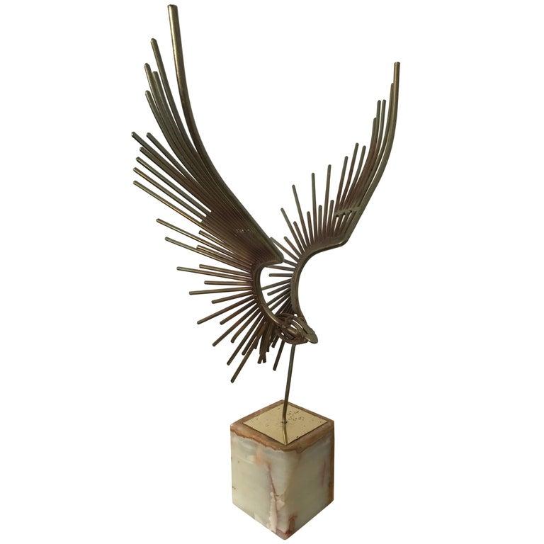 Curtis Jere Eagle Sculpture