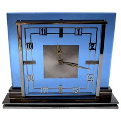 Art Deco Garrard Jaeger Lecoultre Mantle Clock