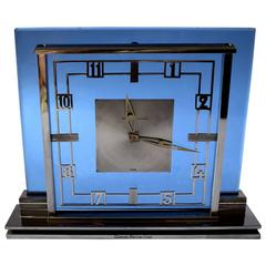 Art Deco Garrard Jaeger Lecoultre Mantle Clock