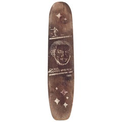 Duke Kahanamoku Skateboard All Original, Early 1960s