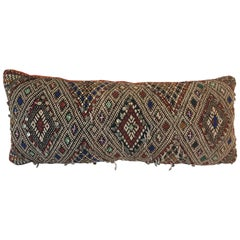 Moroccan Berber Tribal Bolster Pillow