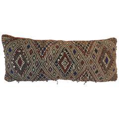 Moroccan Berber Tribal Bolster Pillow