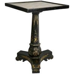 Victorian Papier Mâché Side Table