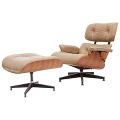 Eames Lounge Chair and Ottoman, 1970s